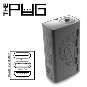 The Pug VaperGate 80W box regulowany
