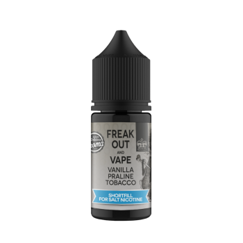 ShortFill Freak Out And Vape Vanilla Praline Tobacco 10ml 0mg
