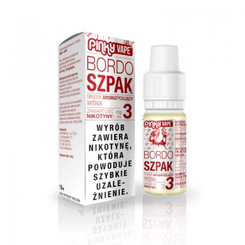 Liquid PinkyVape Bordoszpak 10ml