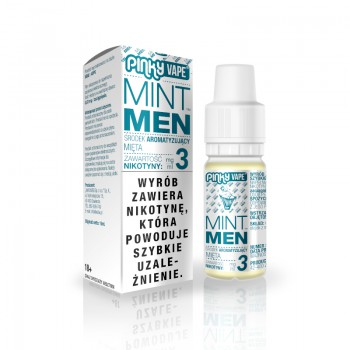 Liquid PinkyVape Mintmen 10ml