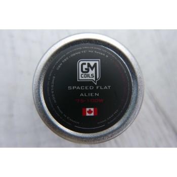 Grzałki GM Coils - Spaced Flat Alien (2 szt.)