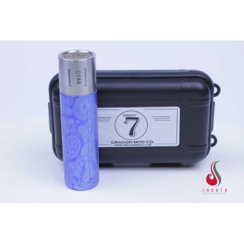 Twenty7 Stainless Steel + Blue Skulls Dragon Mod Co. mechanical...