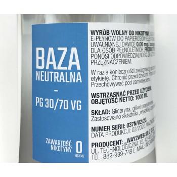 Baza neutralna 1000ml W2W 30/70