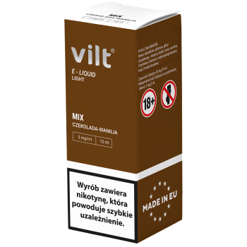 Liquid VILT 10ml Chocolate - Vanilla