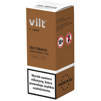 Liquid VILT 10ml USA Tobacco