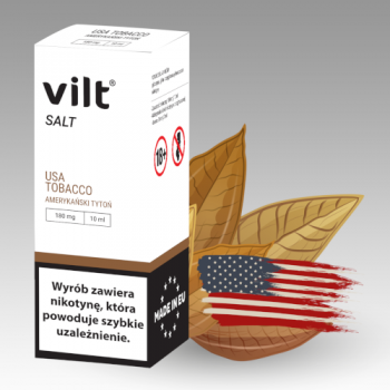Liquid VILT Salt 10ml USA Tobacco