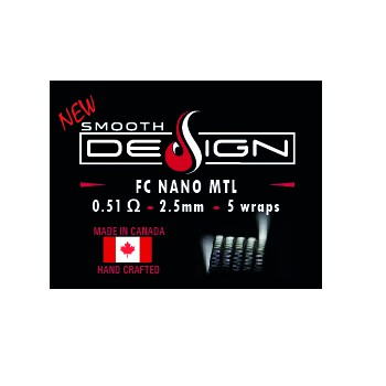 GRZAŁKI SMOOTH DESIGN FC NANO MTL 0,51OHM