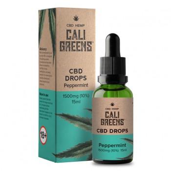 Cali Greens Cbd Oral Drops (Peppermint) 15ml