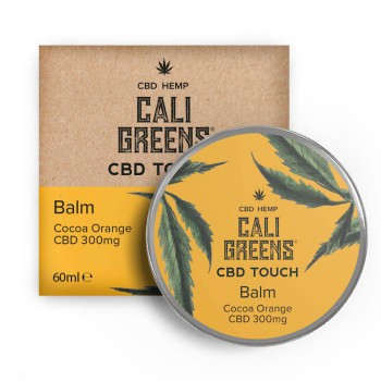 Cali Greens 300mg Cbd Touch Balm Cocoa Orange 60ml