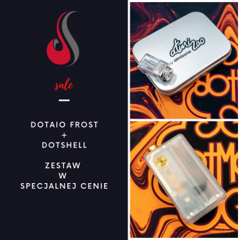 dotMod dotAio Frost Limited release + DotShell Atmizoo