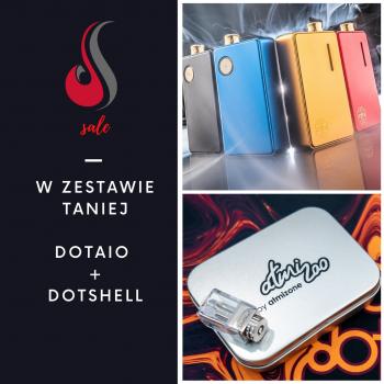 Zestaw Kit dotMod dotAio + Baza Dotshell Atmizoo