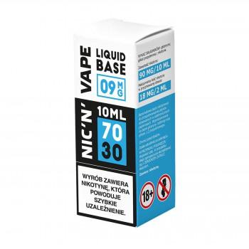 Baza nikotynowa Shot 10ml 70/30 NIC'N'VAPE