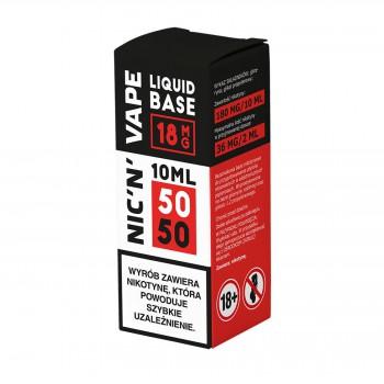 Baza nikotynowa Shot 10ml 50/50 NIC'N'VAPE
