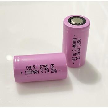 Akumulator 18350 CVEYG 1000MAH 20A