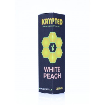 Liquid Krypted - White Peach 30ml 1000mg CBD