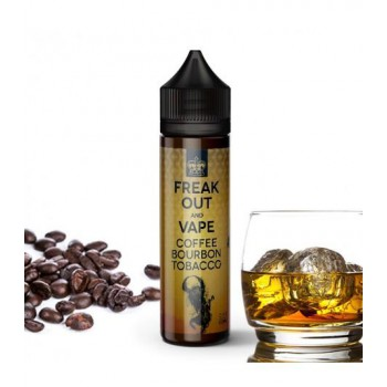 Premix Freak Out And Vape - Coffee Bourbon Tobacco 60ml 0mg