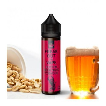 Premix Freak Out And Vape - Butter Beer Nuts Tobacco 60ml 0mg